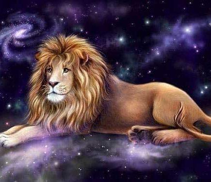 moon in lion